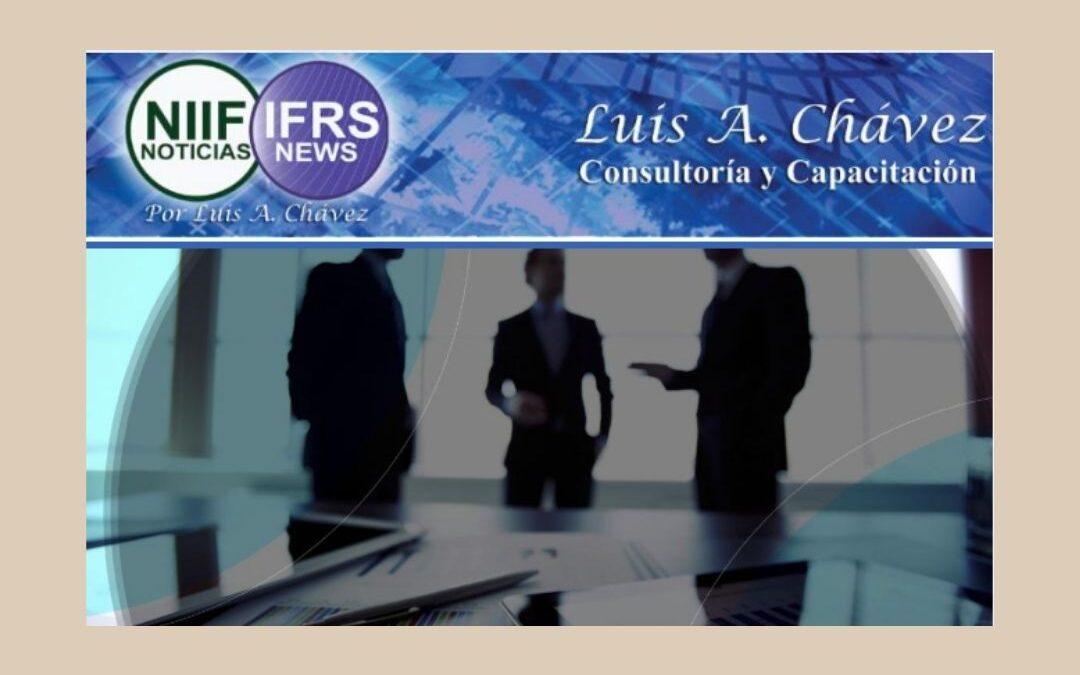 El IASB® modifica las NIIF® para mejorar la información a revelar sobre políticas contables y aclarar la distinción entre políticas contables y estimaciones contables