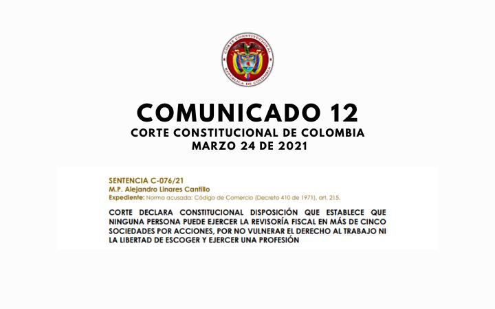 SENTENCIA C-076 2021