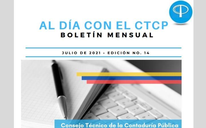 BOLETÍN MENSUAL CTCP EDICIÓN N°14