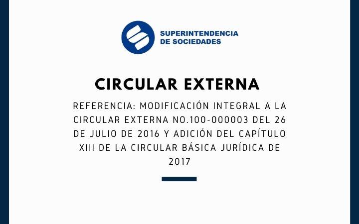 SUPERSOCIEDADES – Circular Externa No. 100-000011 de 2021