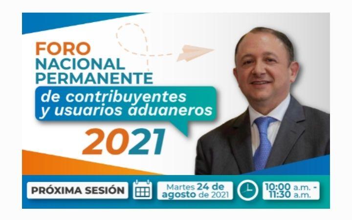 Foro Nacional Permanente de Contribuyentes y Usuarios Aduaneros