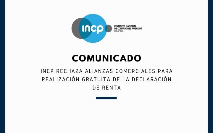 COMUNICADO: INCP rechaza la alianza entre Colsubsidio y Tributi