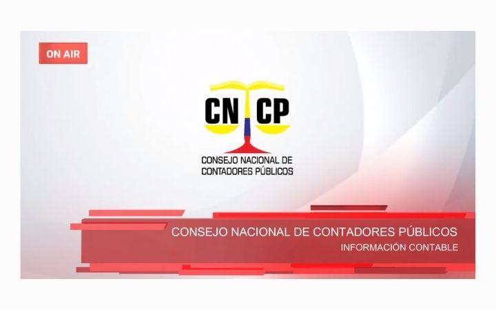 INFORMACIÓN CONTABLE – Consejo Nacional de Contadores Públicos