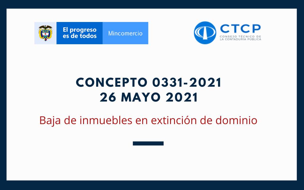 Concepto 0331-2021 (26 Mayo 2021) CTCP