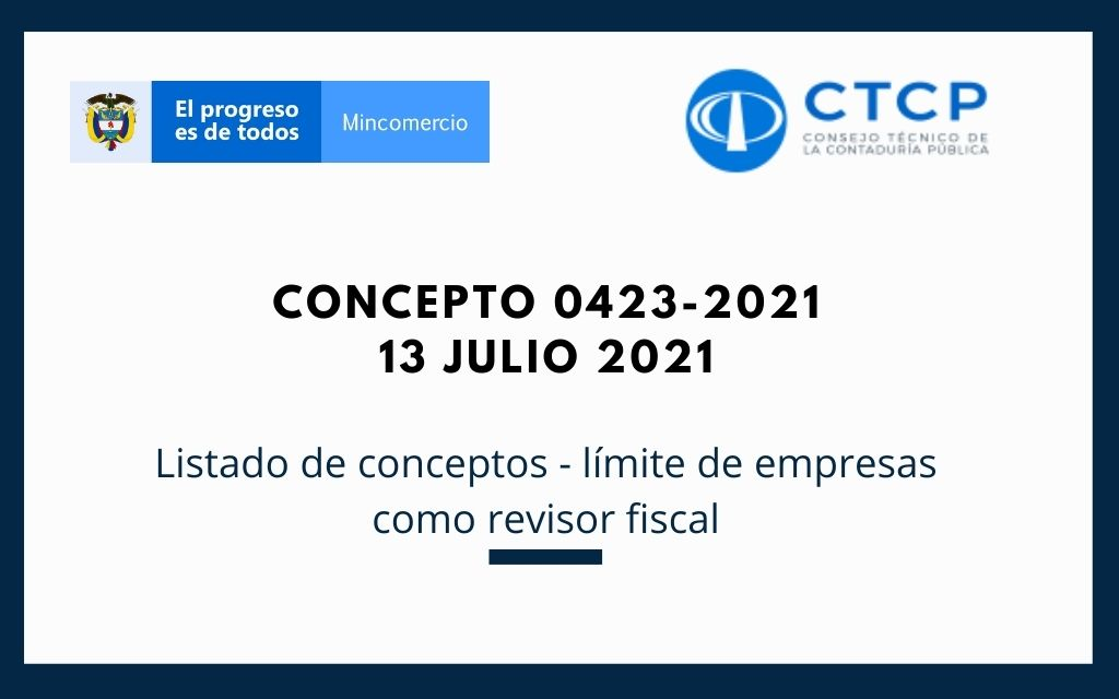 Concepto 0423-2021 (13 julio 2021) CTCP