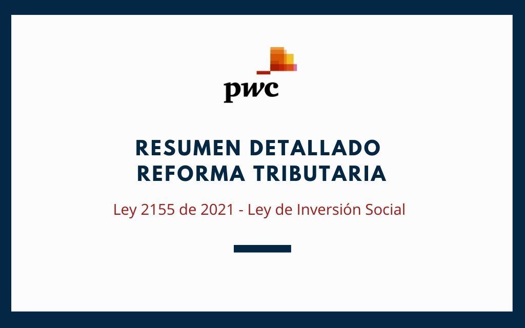 Resumen Detallado Reforma Tributaria